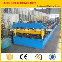 Metal que forma la máquina que forma el rollo para los paneles acanalados / trapezoid