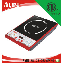 1500W, 1800W, 110V, 120V 1 Burner ETL C-ETL Electric Induction Cooker for USA CANDA Mexico