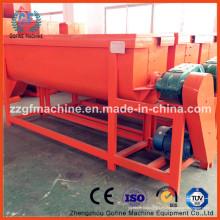 Mezclador horizontal de fertilizantes de acero inoxidable