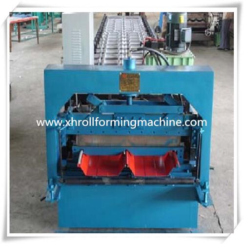 Jch-i Jiont-hidden Roof Roll Forming Machine