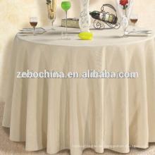 Heiße Verkaufs-Fabrik direkt hergestelltes Polyester-Großverkauf 60 runder Tisch-Tuch