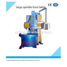 High precision large spindle bore precision lathe for sale