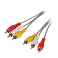 3 Cable de audio y video RCA
