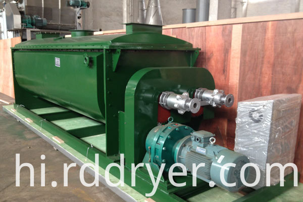 Paddle Drying Machine for Pastelike Materials