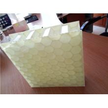 Paneles de panal de fibra de vidrio PP de 25 mm