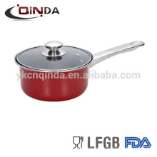 Competitive Price copper saucepannonstick cookware carbon steel saucepan milk pan