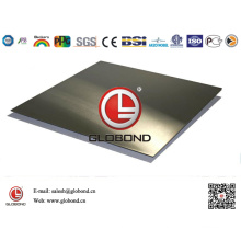 Globond Brushed Stainless Steel Sheet 040