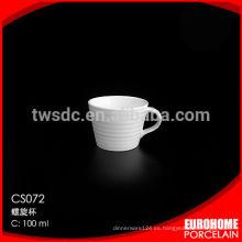 plegable taza de café para la exportación por mayor