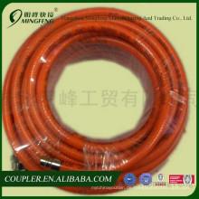 Flexibler Saugschlauch des weiblichen männlichen Schnellkupplungs-PVCs