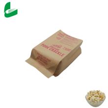 Großhandel kundenspezifisches Design Logo biologisch abbaubare Mikrowelle Popcorn Taschen