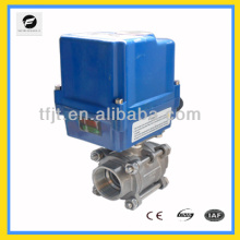 """CTF-010 series actuator 1"""" BSP motorized control valve industrial valve for water treatment"""