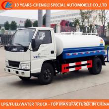 6 Wheels Water Tank Truck 4cbm Watering Truck for Sale