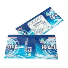 Custom Design Printing PVC/PET Heat Wrap Shrink Sleeve Label For Mineral Water Bottle