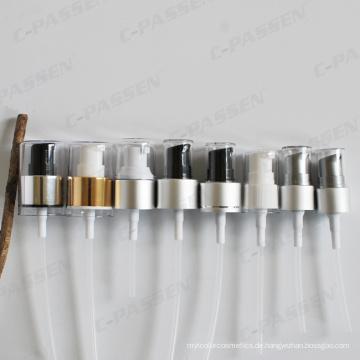 Aluminium-Kunststoff-Creme Pumpenkopf für kosmetische Creme Lotion