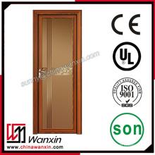 Алюминиевая рама стеклянная качающаяся дверь