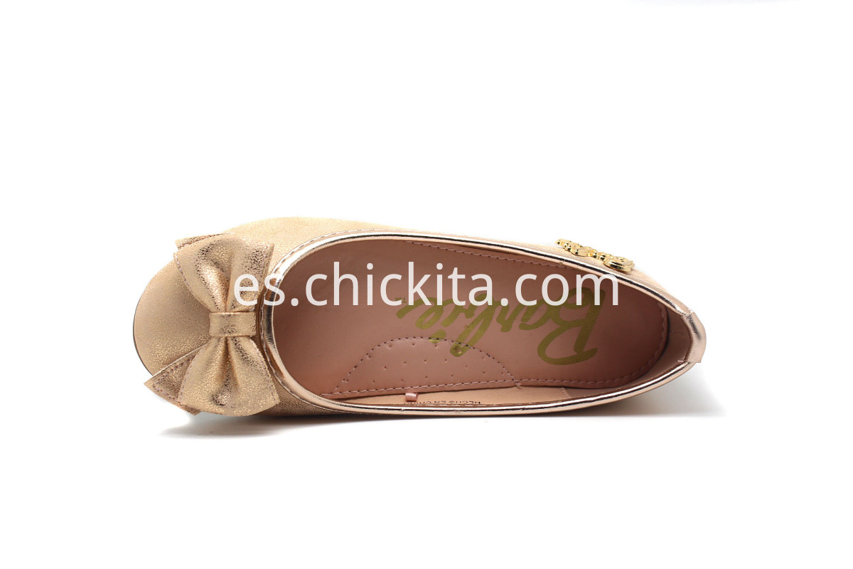 Girl Flat Bow Shoes