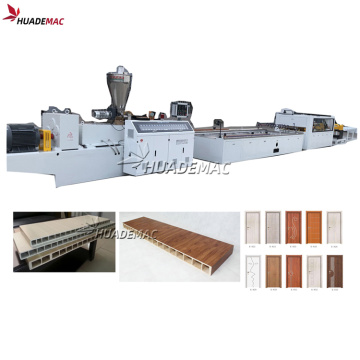 Wpc Door Panel Profile Board Membuat Mesin Extruder