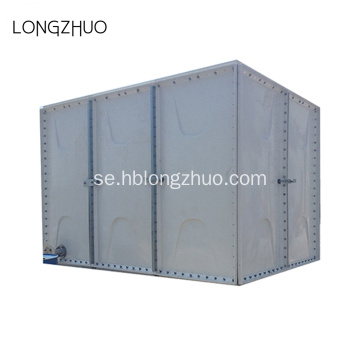 Glasfiber Modular Panel Bolted Assembly FRP Tank