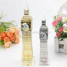 На заводе изготавливаются Хрустальные Лондон часы для дома