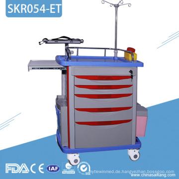 SKR054-ET ABS Transfer Krankenpflege Notfall Behandlungswagen