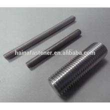 Varilla de rosca de acero inoxidable dúplex UNS32205 / S31803