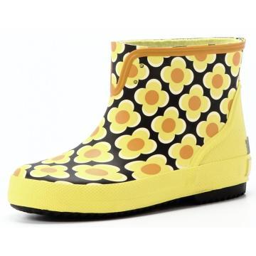 Children Flower Printing Rubber Boots