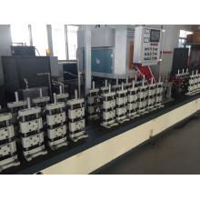 Ligne de production de tube de barre d'espacement en aluminium