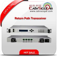 Fournisseur professionnel High Performance Indoor 4way Return Path Optical Receiver Transceiver
