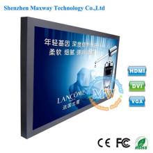 plus de 46 pouces luminosité 1500 cd/m2 TFT LCD moniteurs écrans avec entrée HDMI VGA