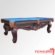 Household carving ODM snooker table