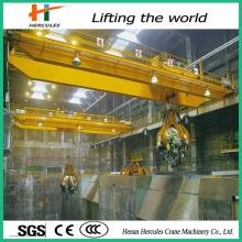 Grab Bridge Overhead Crane with Electric Rope Grab