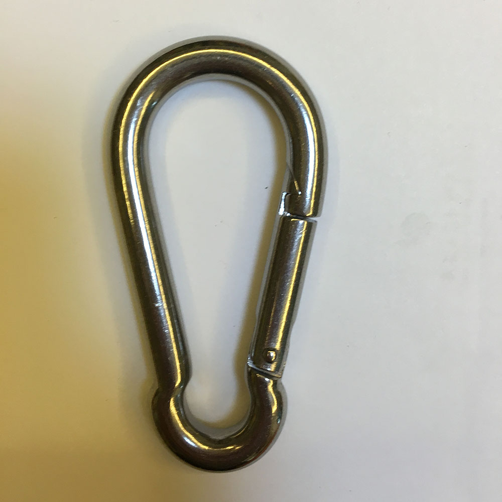 STAINLESS STEEL CARABINER (2)