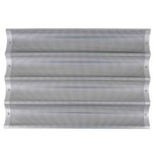 Tabuleiro para baguetes de alumínio com 4 moldes