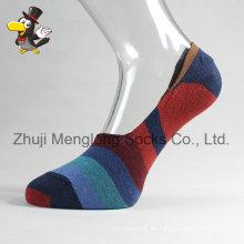 Männer-Low-Cut Socken Invible Baumwollsocken mit Greifer in der Ferse