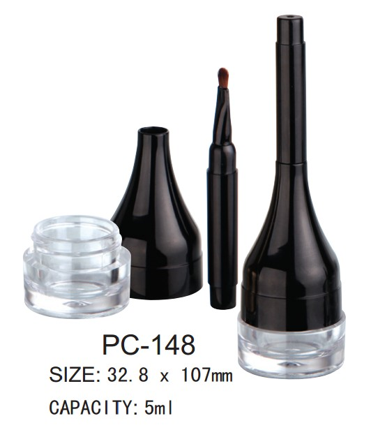 empty plastic eyeliner gel packaging