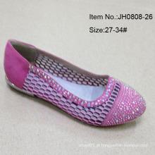 Sapatos menina sapatos único sapatos planos chinelo crianças (jh0808 -26)