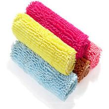 modern non slip kitchen and bath shaggy rug