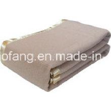 Manta tejida 100% acrílica del hotel de lana