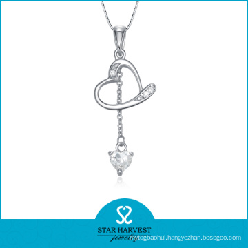 2016 Good Quality Pendant Necklace with 925 Silver Material (N-0264)
