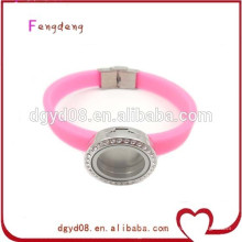 Fashion hot sell silicon bracelet wholesale