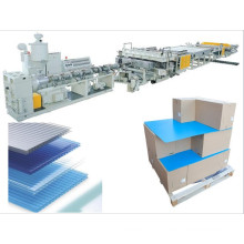 Polypropylene PP Twin Wall Corrugated Plastic Sheet Extrusion Line
