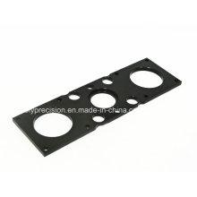 Изготовление нестандартной металлической пластины алюминиевые части CNC подвергая механической обработке