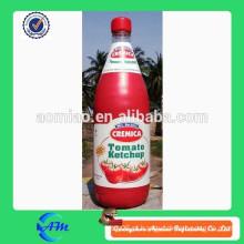 Ketchup inflável do tomate da propaganda venda