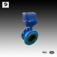 """4"""" inch PVC ball motor operated valves flange type"""