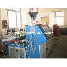 Machine en plastique d'extrudeuse de production de profil de PVC