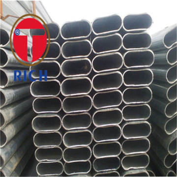 Elliptical Pipe Seamless Oval Steel Tube