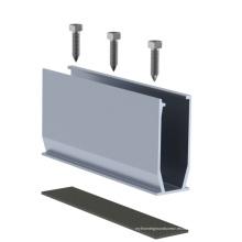Soporte / soporte de aluminio del tejado del panel solar del picovoltio / montaje solar de aluminio