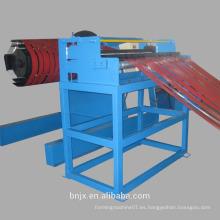 Cortar y cortar longitud especificada velocidad automática de precisión de aluminio cortado a la máquina de longitud proveedor