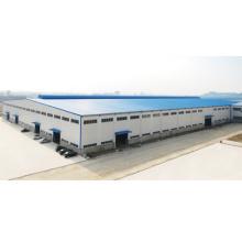 Construction d'entrepôt de fabrication en acier préfabriquée