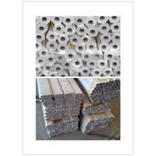 6061, 6063, 6082, 6351 T6 Barre hexagonale en aluminium avec trous